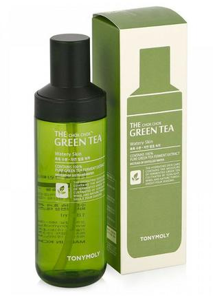 Тоник для лица Tony Moly The Chok Chok Green Tea Watery Skin, 180