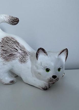 Статуэтка-копилка кот