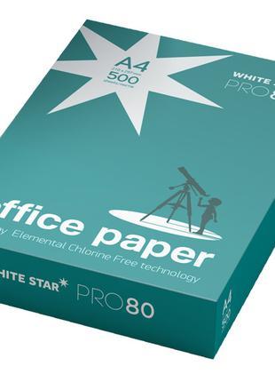 Офисная бумага А4 500 листов плотность 80 гр/м
