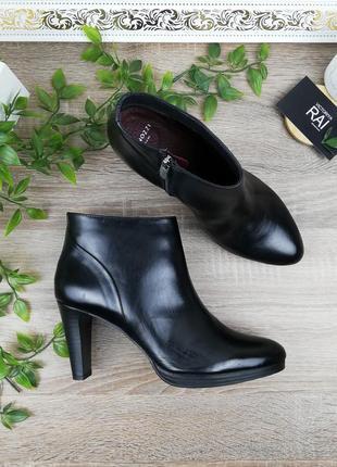 🌿39🌿европа🇪🇺 minozzi. италия. кожа. классные ботинки, полусапожки