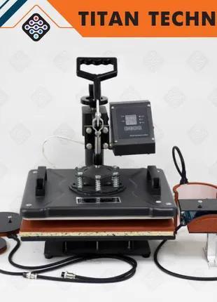 Термопресс планшетный 5 в 1 38×38 см, машина для термопечати