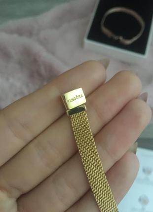 Серебряный браслет pandora.