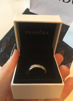 925 проба. серебряное кольцо pandora.