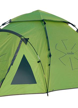 Палатка полуавтоматическая четырехместная Norfin Hake 4 (NF-10406