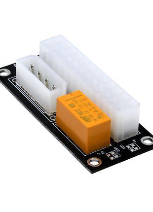 Синхронизатор блоков питания ATX Molex 24PIN SATA ADD2PSU