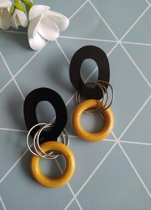 Сережки кільця, підвіски, серьги кольца, серьги подвески asos