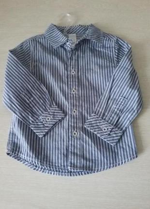 Рубашка 86 см c&a