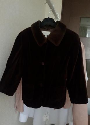 Куртка  бархатная 98 -104 см  mexx