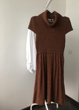 Платье 40 р. шерсть outfit fashion nkd