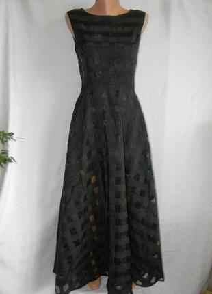 Новое шикарное платье в пол sisley