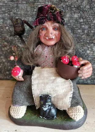 Баба Яга кукла сувенирная