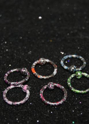 Пирсинг хард  кольцо с шариком