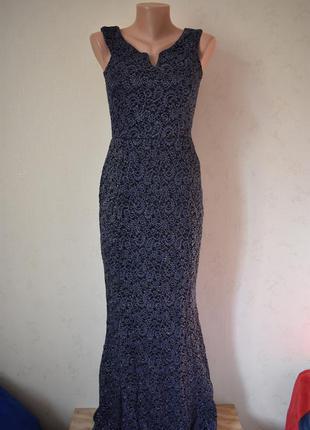 Новое шикарное блестящее платье quiz