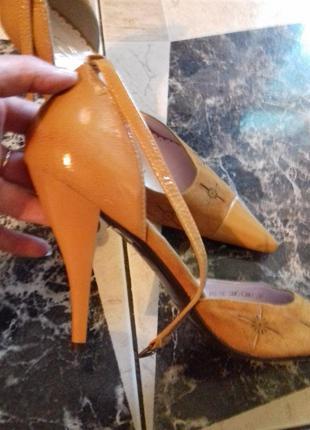 Натуральная кожа)туфли)