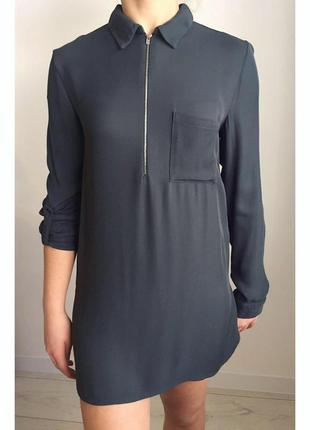 Блуза, туника, рубашка, очень красивого серого цвета.