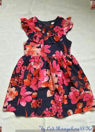 Новое фирменное george красочное платье в цветочный принт на п...