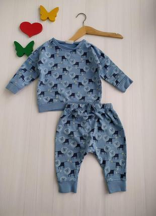 6-9 мес костюм на малыша next