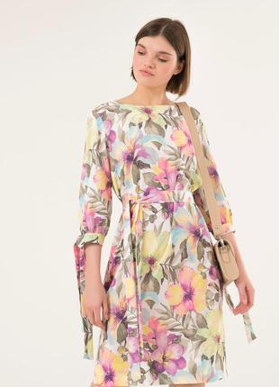 Стильное платье season флоренс цветы
