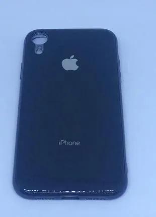 Чехол силиконовый Soft Case для iPhone XR (Черный)