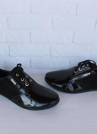 Кожаные, замшевые туфли, оксфорды, броги 40 размера