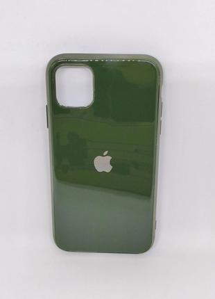 Чехол силиконовый Soft Case для iPhone 11 (Оливковый)