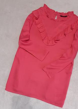 Новая блузка с рюшами размер 20 papaya