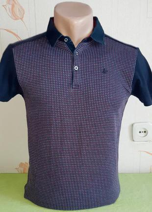Стильная футболка поло next signature slim fit made in turkey