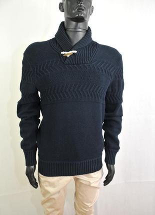 H&m мужской свитер, кофта мужская с вырезом