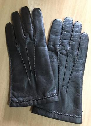 Перчатки 🧤 коричневые