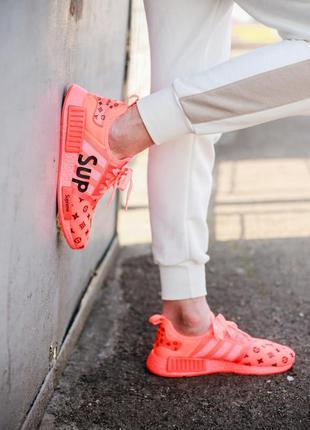Популярные кроссовки💪louis vuitton x supreme x adidas nmd💪