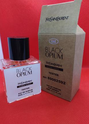 Женские духи black opium floral shock (тестер 50 ml)