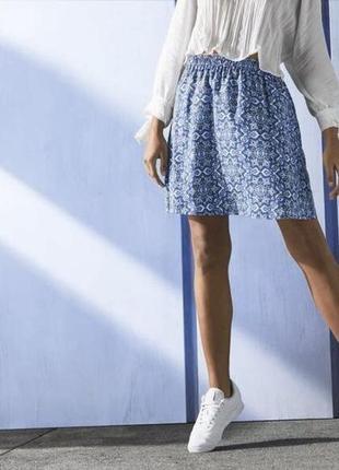 Летняя лёгкая юбка esmara германия, 100% вискоза