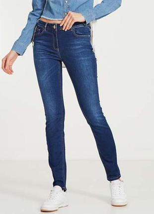 Синие джинсы зауженные,от arizona jeans германия, оригинал