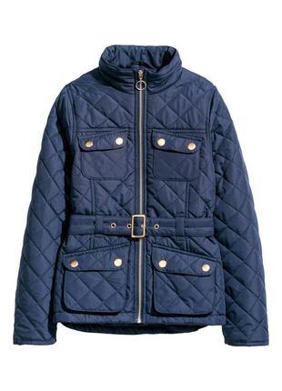 Стильна демі куртка для дівчаток від h&m іспанія (140,146,152)