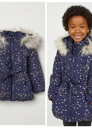 Красива курточка для дівчаток від h&m німеччина