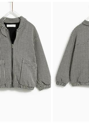 Трикотажна курточка бомбер для дівчаток від zara іспанія
