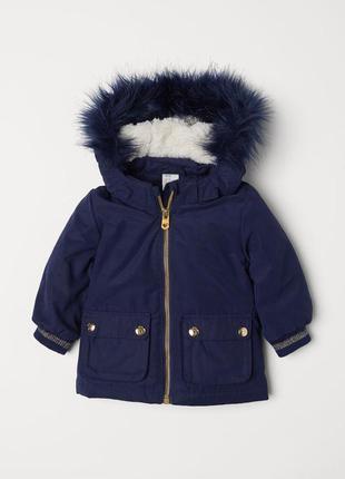 Стильна курточка парка для дівчаток від h&m німеччина
