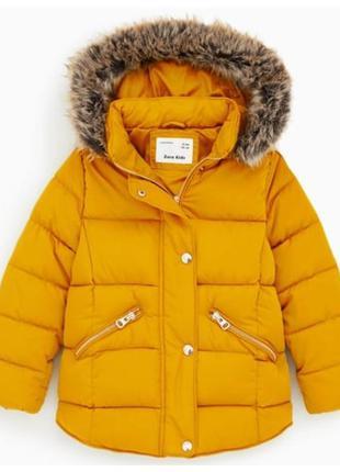 Стильна курточка для дівчинки від zara іспанія