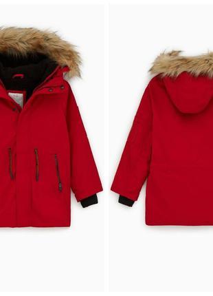 Утеплена куртка парка 2в1 для хлопчиків від zara іспанія