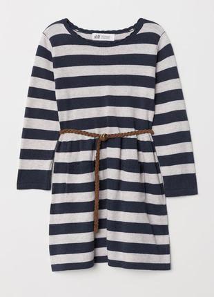 Трикотажне платтячко для дівчинки від h&m німеччина