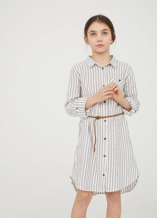 Стильна сукня - сорочка від h&m іспанія