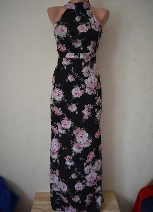 Новое красивое платье с принтом new look