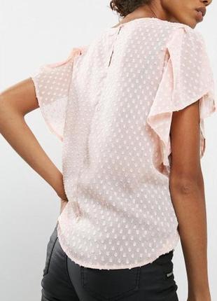 Нежная пудровая блуза в рельефный горох jaqueline de young #ро...