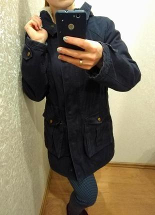 Демисезонная парка куртка курточка new look, размер 10 м