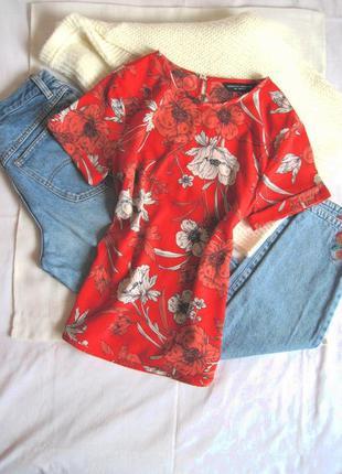 Прекрасный женственный топ блуза в маки dorothy perkins #розва...