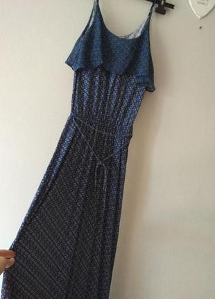 Сарафан платье oasis макси в пол длинное с-м размер 10