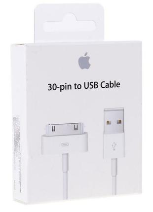 Оригинал кабель, шнур, 30-pin USB для iPhone 4/4s, iPad 1/2/3