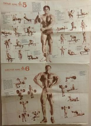 Джо Вейдер Система строительства тела Плакаты