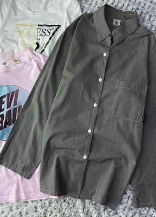 Рубашка в клетку calvin klein