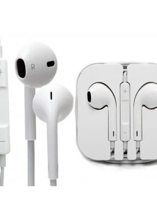 Проводные наушники Apple I5 EarPods, Наушники для iPhone iPod